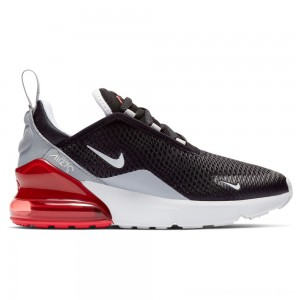 Zapatillas casual de niños Air Max 270 PS Nike Negro