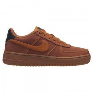 Zapatillas casual de niños Air Force 1 LV8 Style Nike Marrón