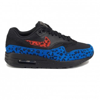 Zapatillas deportivas de mujer Nike Air Max 1 multicolor con print animal Multicolor